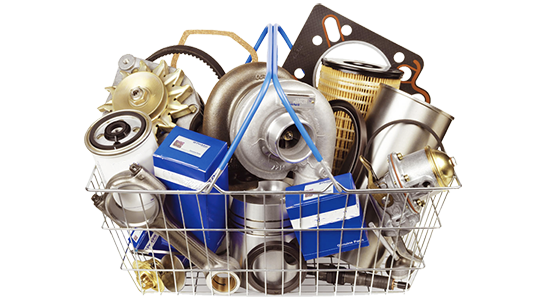 Spare car parts cart png for JIUASP home screen